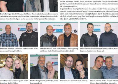 2. Buechibärger-Talk mit Klick-Seite im Azeiger vom 29.03.2018