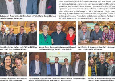 5. Buechibärger-Talk mit Klick-Seite im Azeiger vom 7.11.2019